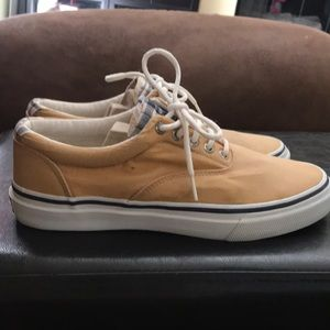 Yellow & Plaid Sneakers by Sperry Shoes (9)